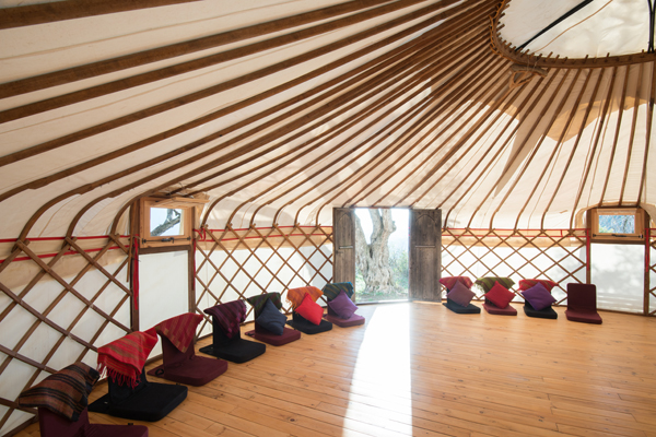 YURT AND YOGA STUDIO